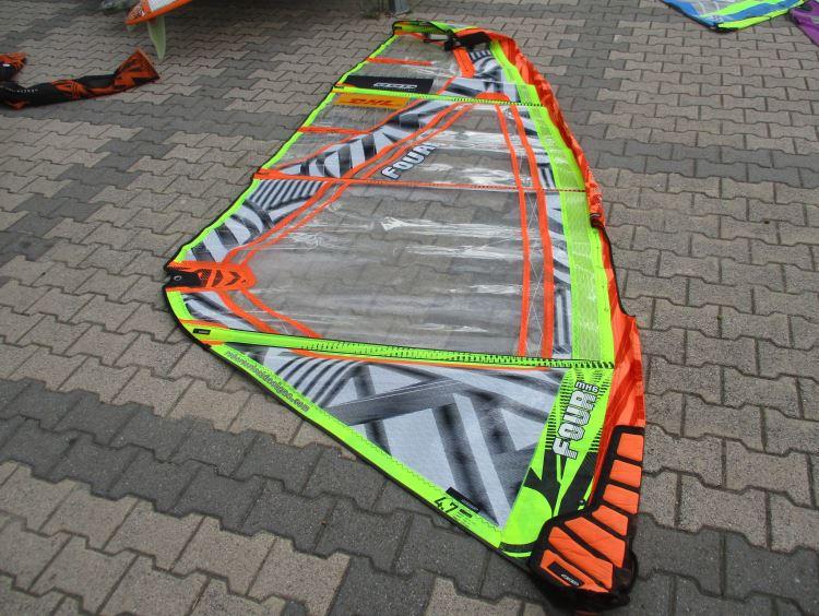 Chinook Leucate Com Voile Windsurf Occasion Rrd The Four Mkvi 4 7 M 2017 Orange