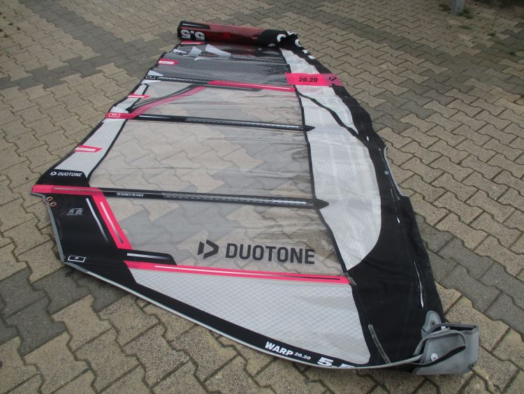Chinook Leucate Com Voile Windsurf Occasion Duotone Warp 2020 5 5 M